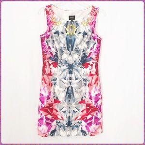 Laundry by Shelli Segal silk sheath dress size 2